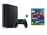Sony PlayStation 4 - 1TB Slim D Chassis & Pro Evolution Soccer 2017