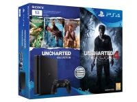 Sony PlayStation 4 - 1TB Slim D Chassis & Uncharted 4: Το Τέλος Ενός Κλέφτη & Uncharted: Η Συλλογή του Nathan Drake
