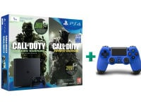 Sony PlayStation 4 - 1TB Slim D Chassis & Call of Duty: Infinite Warfare Legacy Edition (Digital) & 2ο χειριστήριο (μπλε)