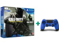 Sony PlayStation 4 - 1TB Slim D Chassis & Call of Duty: Infinite Warfare Legacy Edition & 2ο χειριστήριο (μπλε)