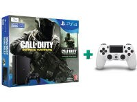 Sony PlayStation 4 - 1TB Slim D Chassis & Call of Duty: Infinite Warfare Legacy Edition & 2ο χειριστήριο (λευκό)
