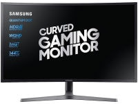 "Οθόνη Υπολογιστή 27"" Samsung LC27HG70QQUXEN - Quad HD VA QLED UltraWide Curved Gaming Monitor"