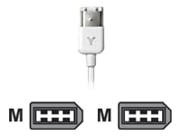 Καλώδιο Firewire (6pin) Apple M8708G/A - 0.5m