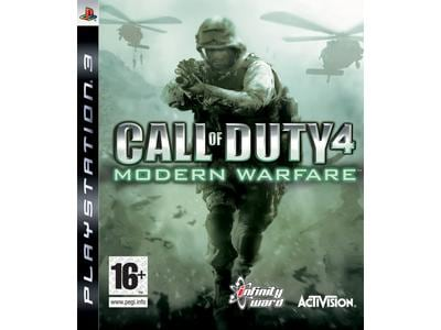 Call of Duty 4 - Modern Warfare - PS3 Game