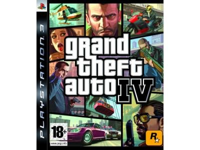 PS3 Used Game: Grand Theft Auto IV gaming   used games   ps3 used