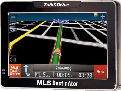 Mls Destinator Talk Drive 50a Dekths Aytokinhtoy Gps Me Xartes