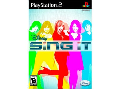 Sing It - PS2 Game