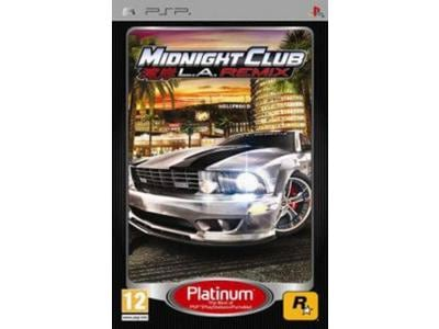 Midnight Club: LA Remix Platinum - PSP Game