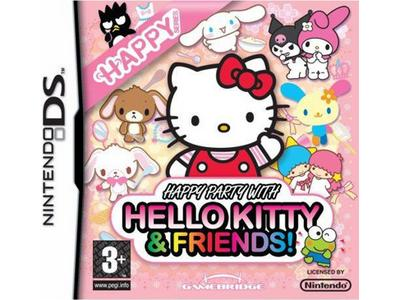 Happy Party Hello Kitty Friends - Nintendo DS Game
