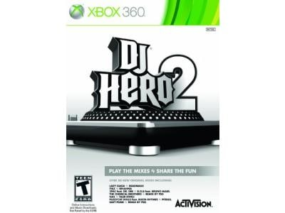 DJ Hero 2 stand alone  - Xbox 360 Game