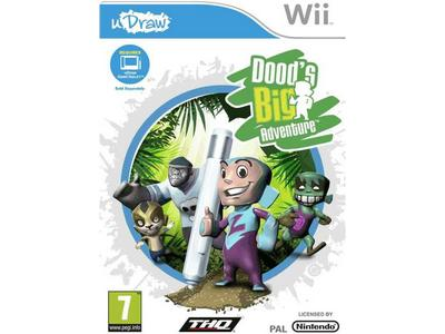 Doods Big Adventure uDraw - Wii Game