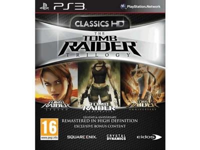 Tomb Raider Τriple Pack HD - PS3 Game gaming   παιχνίδια ανά κονσόλα   ps3