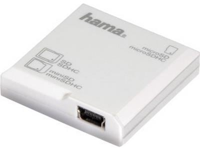 USB Memory Card Reader - Hama SD All in 1 HA91093 large