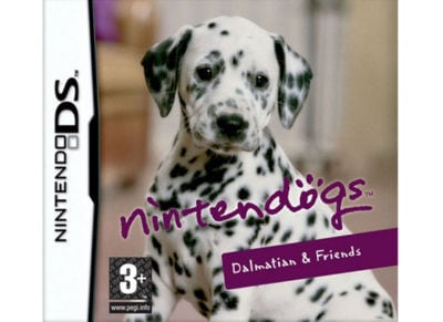 DS Used Game: Nintendogs Dalmatian & Friends