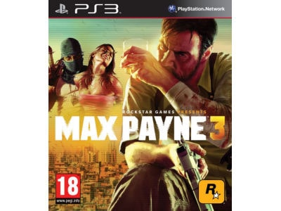 Max Payne 3 - PS3 Game