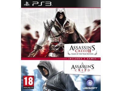 Assassin's Creed 1 & Assassin's Creed 2 - PS3 Game