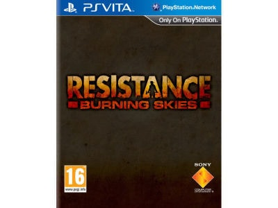 Resistance Burning Skies - PS Vita Game