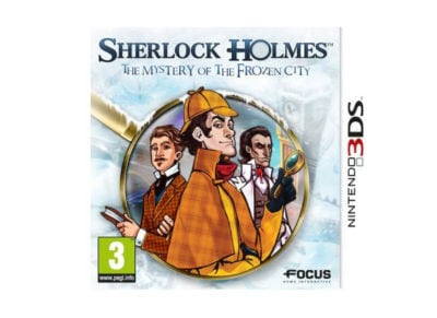 Sherlock Holmes: The Mystery of the Frozen City - 3DS/2DS Game