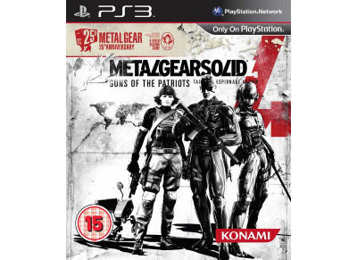 Metal Gear Solid 4: Guns of the patriots - 25th anniversary - PS3 Game gaming   παιχνίδια ανά κονσόλα   ps3
