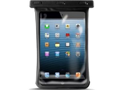 """Puro Waterproof Slim - Αδιάβροχη Θήκη Tablet 7.9"""" - Μαύρο large"""