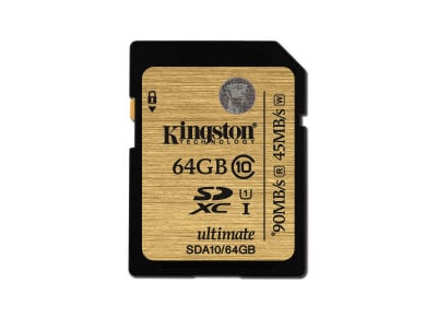 Κάρτα μνήμης SDXC 64GB - Kingston Ultimate Class 10 UHS-I
