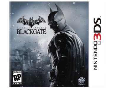 Batman: Arkham Origins Blackgate - 3DS Game
