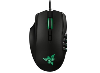 Gaming Mouse Razer Naga MMOG 2014 Left Handed Μαύρο