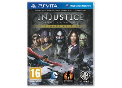 Injustice: Gods Among Us - Ultimate Edition - PS Vita Game gaming   παιχνίδια ανά κονσόλα   ps vita