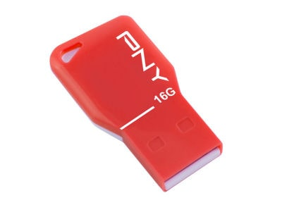 USB stick PNY Key Attache 16GB 2.0 Κόκκινο