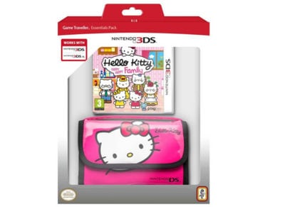 Hello Kitty Happy Family Bundle με Θήκη - 3DS/2DS Game