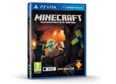 PS Vita Used Game: Minecraft gaming   used games   ps vita used