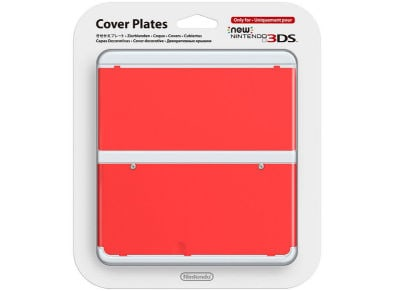 New Nintendo 3DS Coverplate - Κόκκινο
