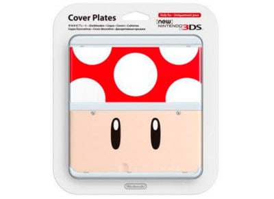 New Nintendo 3DS Coverplate - Red Toad