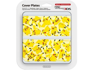 New Nintendo 3DS Coverplate - Pikachu