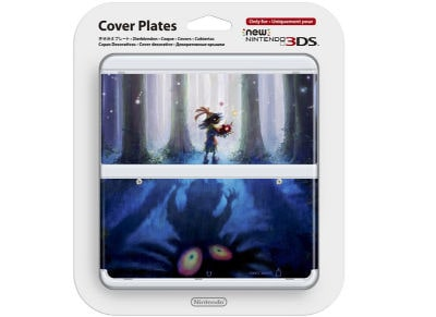 New Nintendo 3DS Coverplate - Majora's Mask