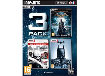 Batman Triple Pack (Arkham Asylum/City/Origins) - PC Game