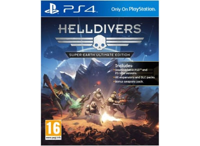 Helldivers Super-Earth Ultimate Edition - PS4 Game