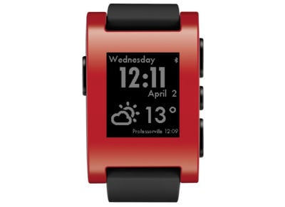 Smartwatch Pebble Time Classic Cherry Red Κόκκινο