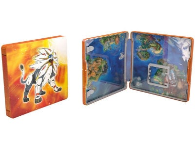 Pokemon Sun Steelbook Edition - 3DS/2DS Game