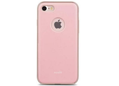 Θήκη iPhone 8/7 - Moshi iGlaze Cover Ροζ