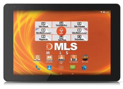 "MLS Prime Tablet 10.8"" 32GB 3G Μαύρο"