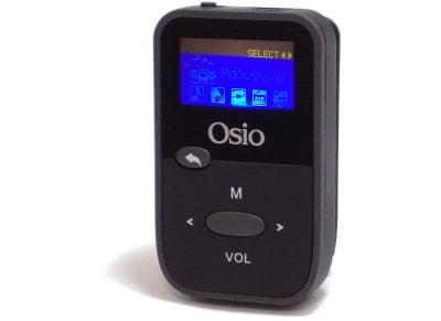 MP3 Player Osio SRM-7880 - 8GB Γκρι/Μαύρο