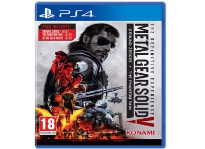Metal Gear Solid V Definitive Edition (Hits) - PS4 Game