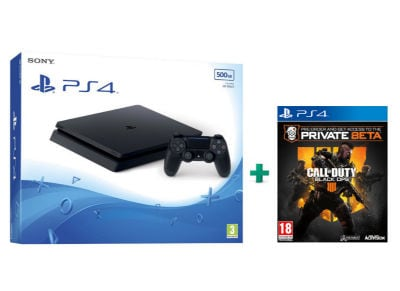 Sony PlayStation 4 - 500GB Slim D Chassis & Call of Duty: Black Ops IIII