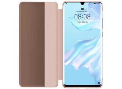 Θήκη Huawei P30 Pro - Smart View Flip Case Ροζ