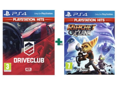 DriveClub & Ratchet & Clank PlayStation Hits - PS4 Game