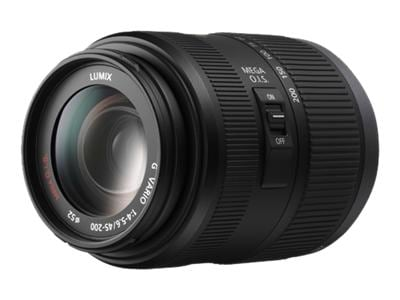 Panasonic Lumix H-FS045200 - Zoom 45 - 200 mm - f4.0-5.6 G VARIO ASPH